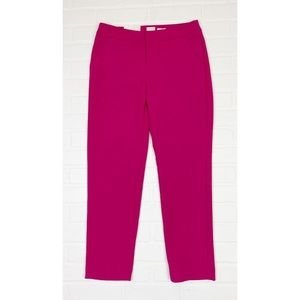 NWT A New Day Pink Slim Ankle Stretch Dress Pants
